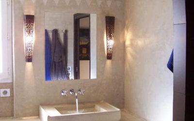 Salle de bain Tadelakt