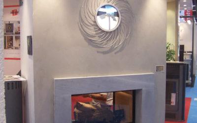 Foire internationale de Bordeaux stucs/béton ciré/peinture chaux