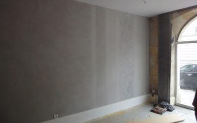 Local commercial stucs/béton ciré/peinture chaux