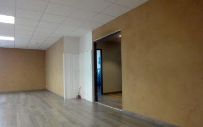 Salle de Yoga Enduit argile