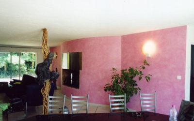 Séjour Peinture chaux/stucs