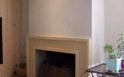 Salle à manger Plâtre et chaux/stucs/peinture chaux